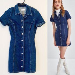 Zara Authentic Denim TRF Mini Dress